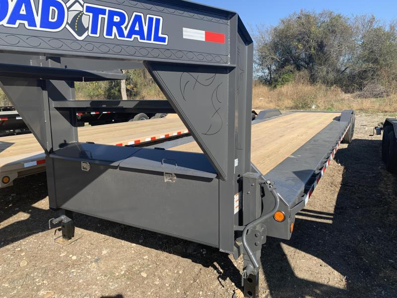 102 x 40' Tandem Axle 10 I-Beam Frame Gooseneck Equipment Hauler