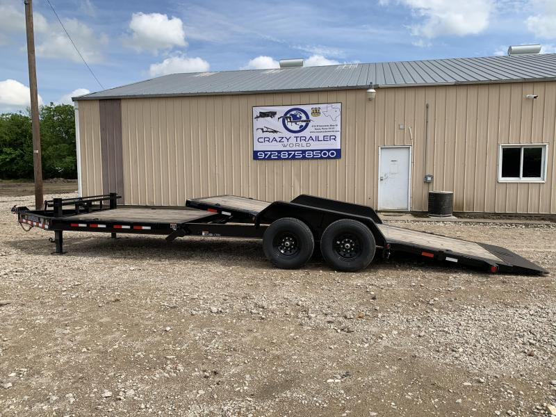 "2020 Load Trail 83"" X 24' Tilt-N-Go Tandem Axle Tilt Deck I-Beam Frame"