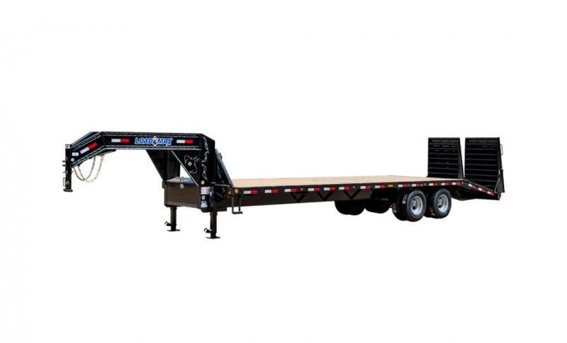 2020 Load Trail Tandem Heavy Duty Gooseneck W/ Max Ramps