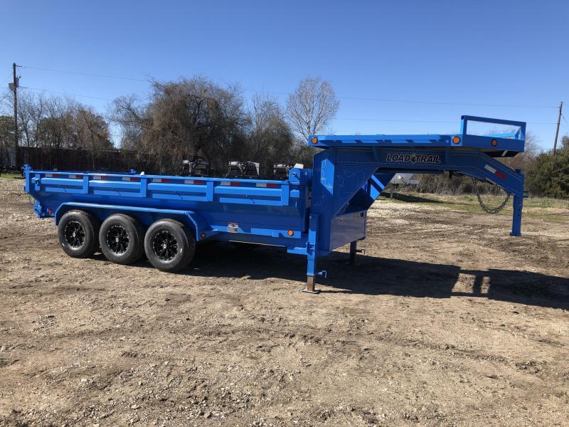 """83"""" x 16' Triple Axle Gooseneck Dump"""