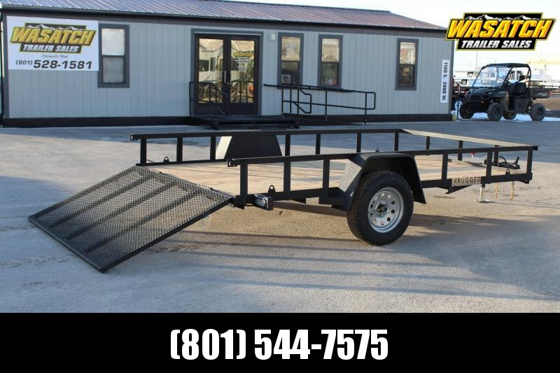 Charmac Trailers 7x12 Rugged Utility Trailer