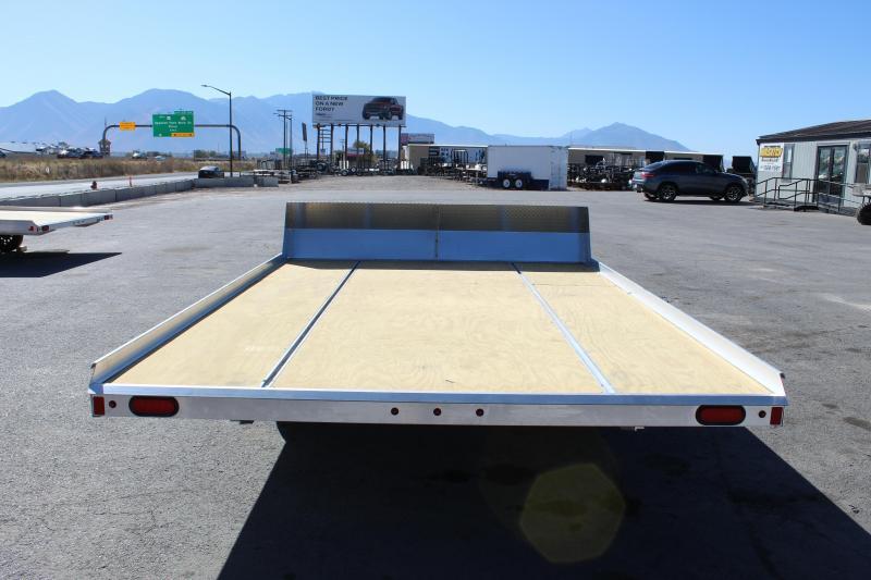 Aluma 8612T Aluminum Snowmobile Trailer