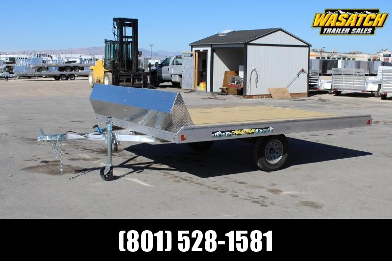 Aluma 8612T Aluminum Snowmobile Trailer