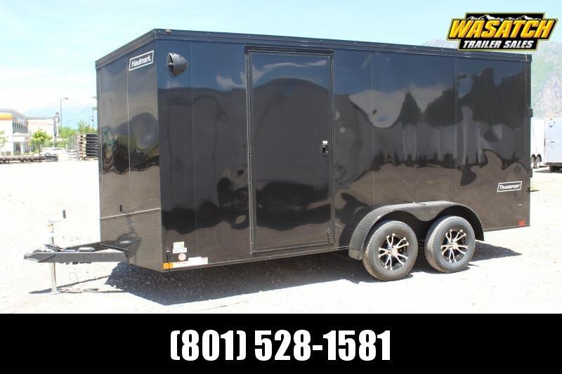 ***Haulmark 7x16 Transport Enclosed Cargo Trailer w/ UTV Package***