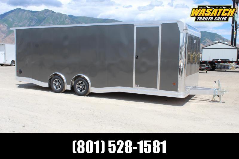 ALCOM 85x24 EzHauler Aluminum Car / Racing Trailer
