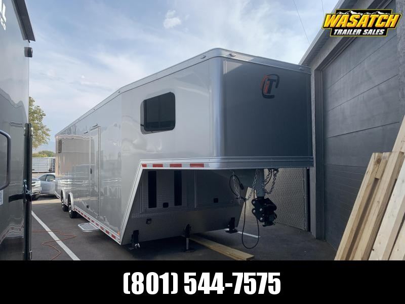 2020 inTech Trailers 42' Gooseneck Enclosed Cargo Trailer