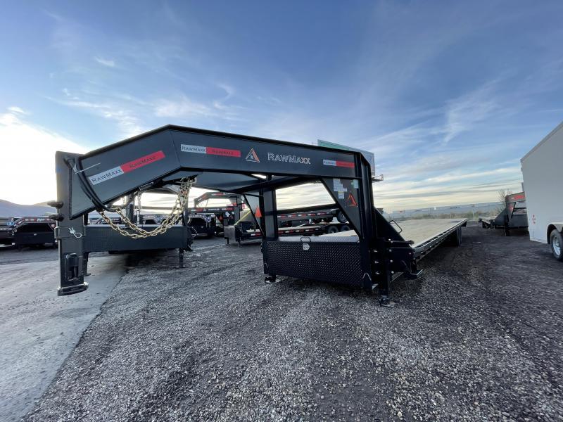 RawMaxx - FDX - 102x40 - Gooseneck - Deckover / Equipment / Flatdeck / Flatbed Trailer