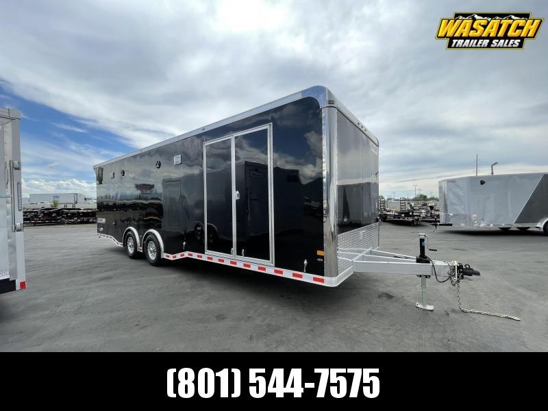 Haulmark 8.5 x 28 Edge Aluminum Enclosed Cargo / Car Hauler Trailer