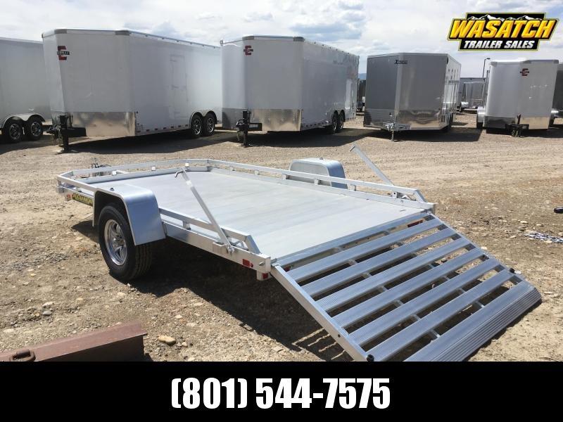 Aluma - 7712H - 6.5x12 - Aluminum - Utility Trailer