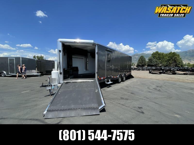 CargoPro - 8.5' x 24' - Elevation Aluminum All Sport - Snowmobile Trailer