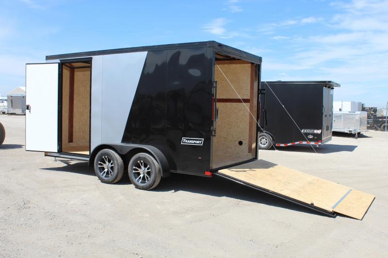 Haulmark 7x14 Transport Enclosed Cargo Trailer w/ UTV Package