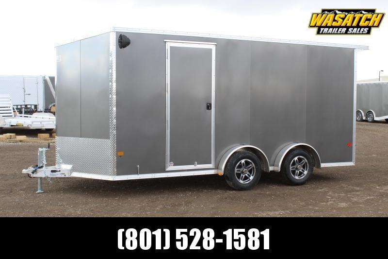 ALCOM 7.5x16 EzHauler Aluminum Enclosed Cargo Trailer
