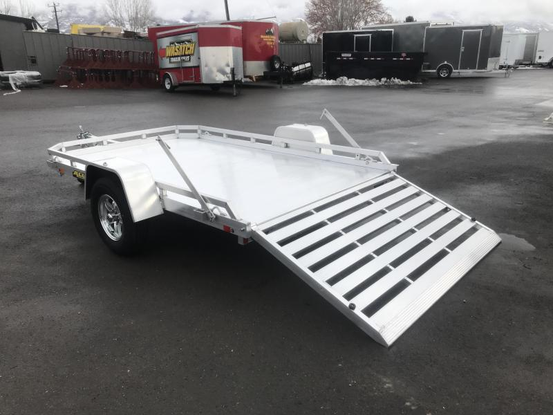 Aluma 6.5x10 (7710H) Aluminum Utility Trailer