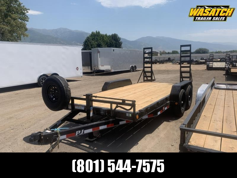 PJ 7x16 Channel Equipment Car Hauler (CC)