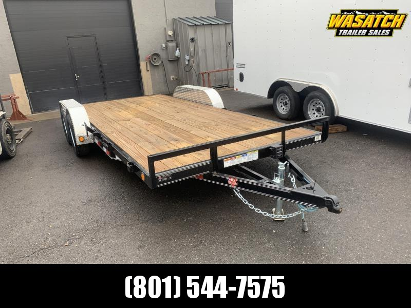 PJ 18ft - 4 in. Channel Carhauler (C4) Car / Racing Trailer