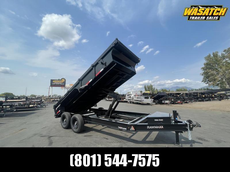 RawMaxx - 7x16 - 2' Sides - Dump Trailer