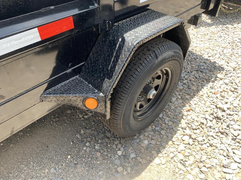 PJ 5x10 Single Axle Utility Dump (D5)