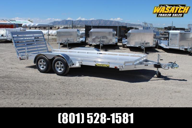 Aluma 7816TA Aluminum Utility Trailer