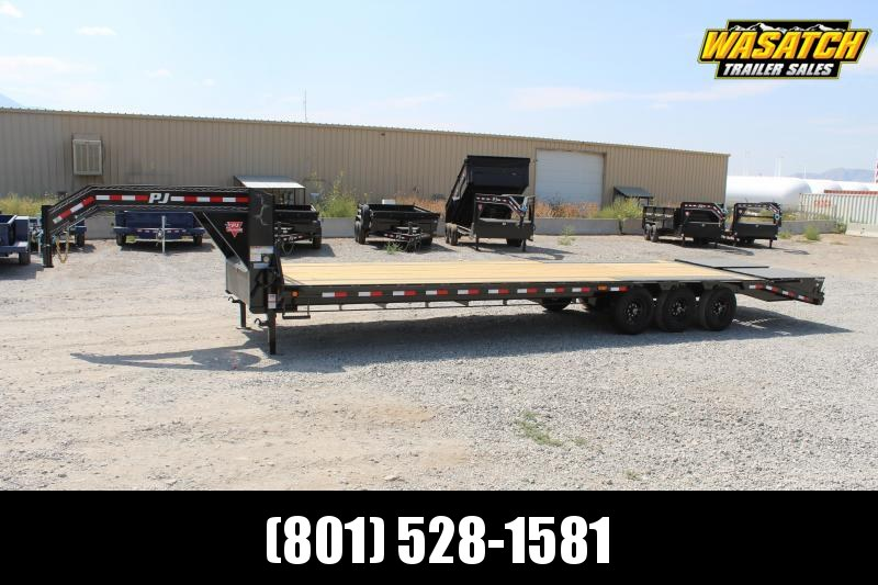 PJ Trailers 85x32 Low-Pro Flatdeck With Singles (LS) Flatbed Trailer