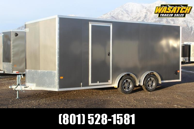 ALCOM 7.5x18 EzHauler Aluminum Enclosed Cargo Trailer