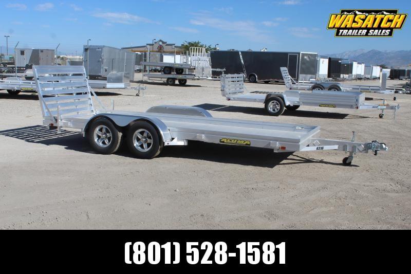 Aluma 8316LW Aluminum Utility Trailer