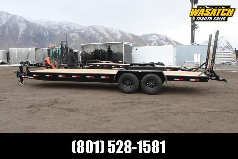 Southland Trailers 7x24 HD Tube Equipment Trailer