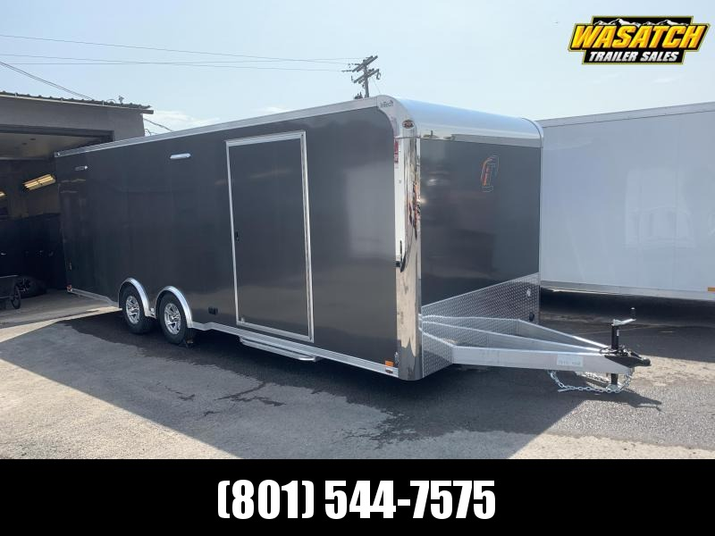 24' inTech Lite Aluminum Enclosed Car / Racing / Cargo Trailer