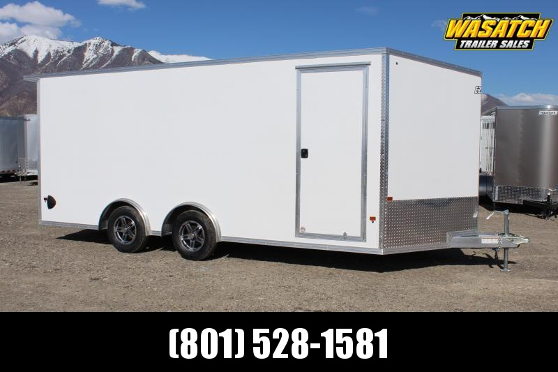 EZ Hauler 8.5x18 Aluminum Enclosed Car / Racing Trailer