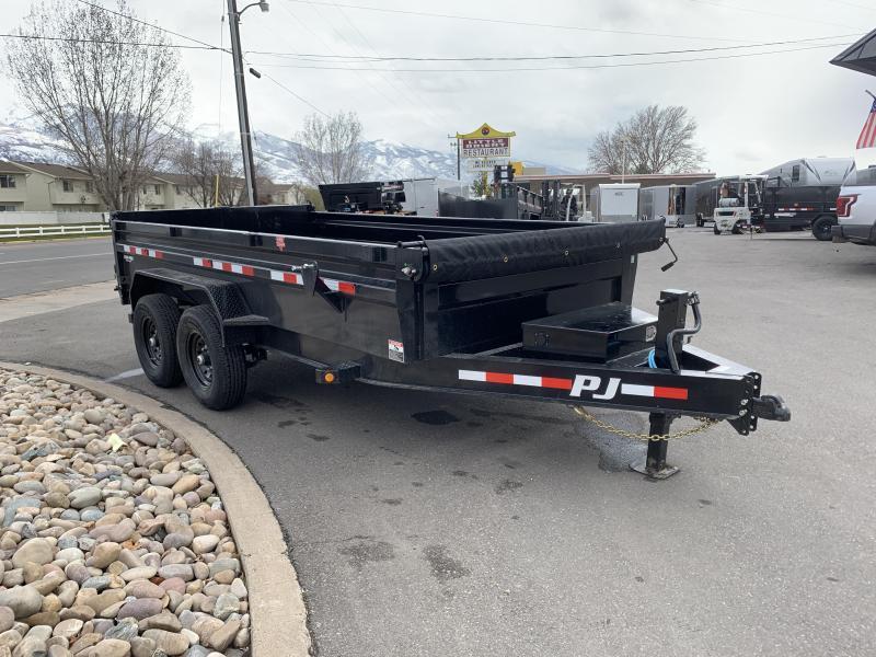 PJ 7x14 (DL) 2' Side Dump
