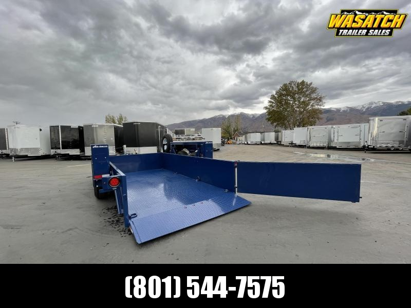 Air Tow - UT14-12- 14' - Ground-Level Loading - Flatbed Trailer