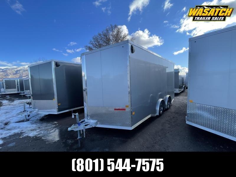 Alcom-Stealth 8.5x16 Aluminum Enclosed Cargo