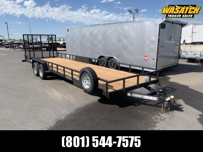 Charmac 7x26 DX Rugged Utility Trailer