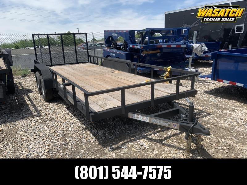 Charmac Trailers 7x18 Tandem Rugged Utility Trailer