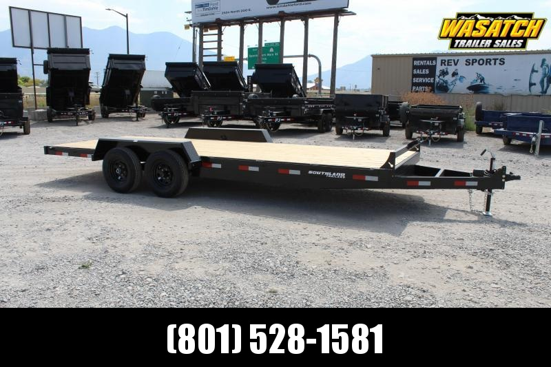 ***Southland Trailers 7x20 HD Tube Flatbed Trailer***