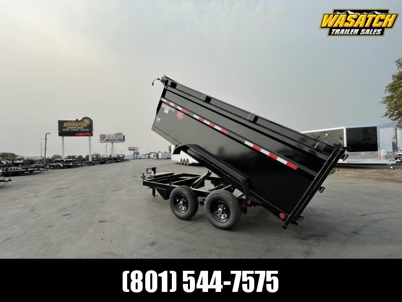 PJ - D3 - 6x12 - Tandem 5.2k - 4' Side - Dump w/ Ramps