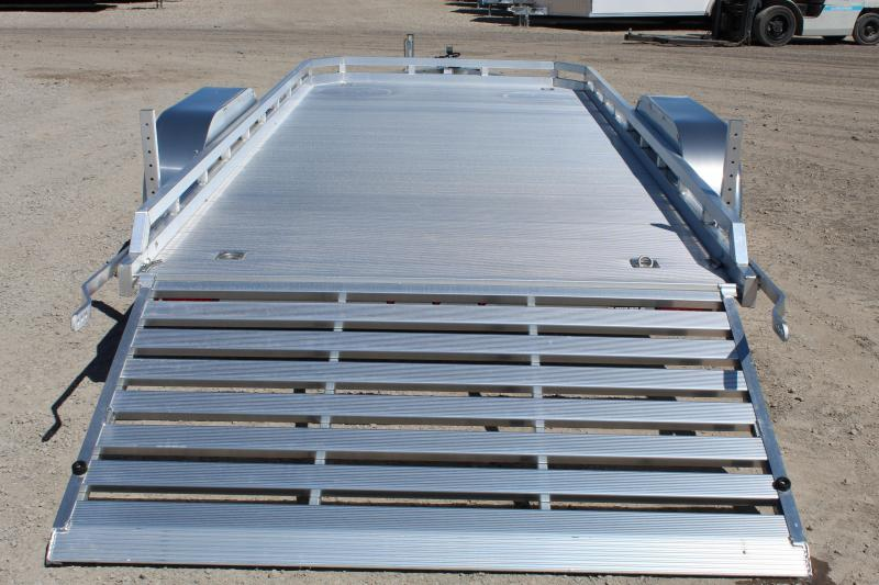 Aluma 7816 Aluminum Utility Trailer