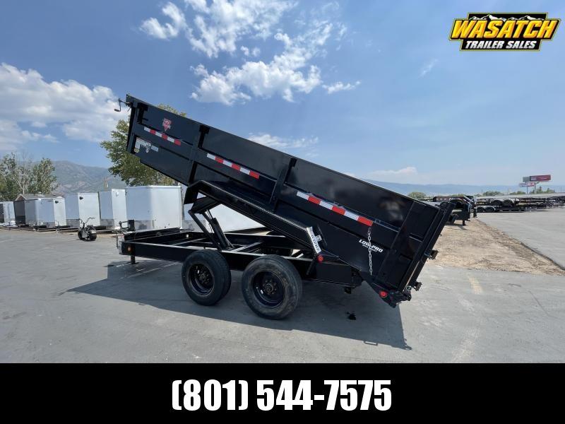 PJ - USED (2019) - 7x16 - Heavy Duty (DE) - Dump Trailer