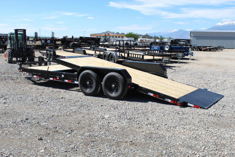 ***PJ Trailers 7x22 Channel Tilt (T6) Equipment Trailer***