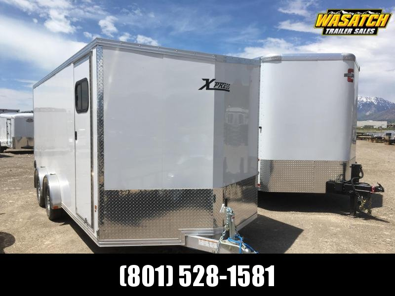 High Country 7.5x18 Xpress Enclosed Aluminum Cargo