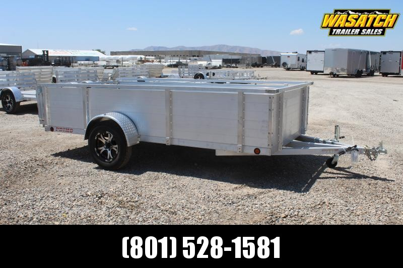 Primo 6x12 Aluminum High Side Utility Trailer
