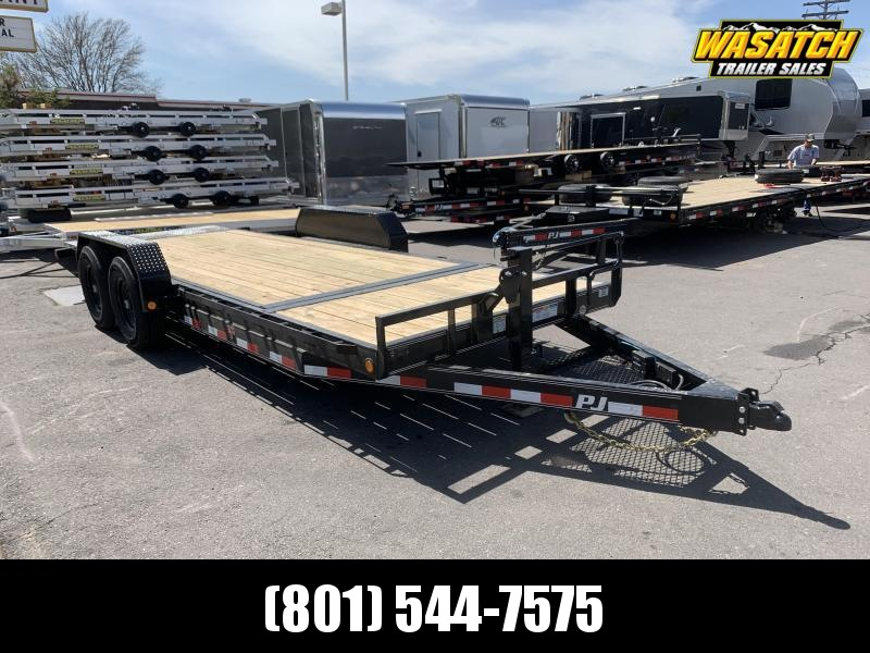 PJ 20' - 6 in. Channel Equipment Tilt (T6) Equipment Trailer