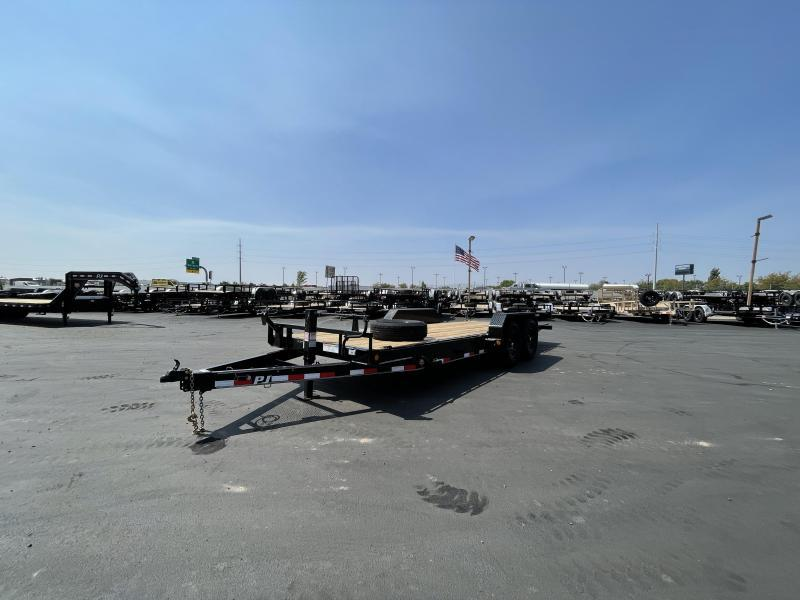 """PJ - 20' - T6 - 6"""" Channel - Tilt - Equipment Trailer"""