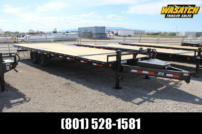 PJ Trailers 85x26 Deckover Tilt (T8) Equipment Trailer