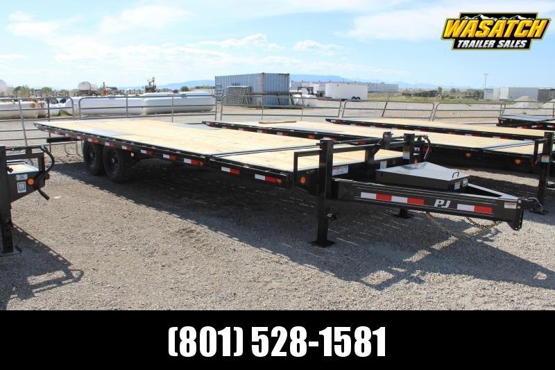 PJ Trailers 85x26 Deckover Tilt (T8) Equipment Trailer