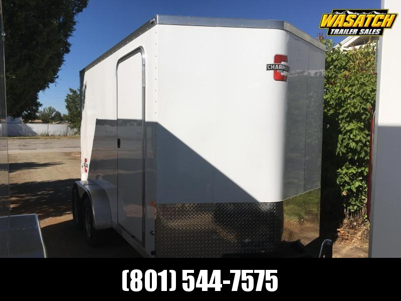 2020 Charmac Trailers 7x12 Stealth Enclosed Cargo Trailer with Stabilizer Jacks