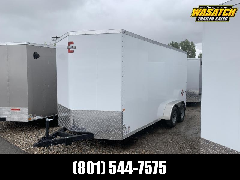 Charmac 7x16 Stealth Enclosed Cargo w/ Barn Doors