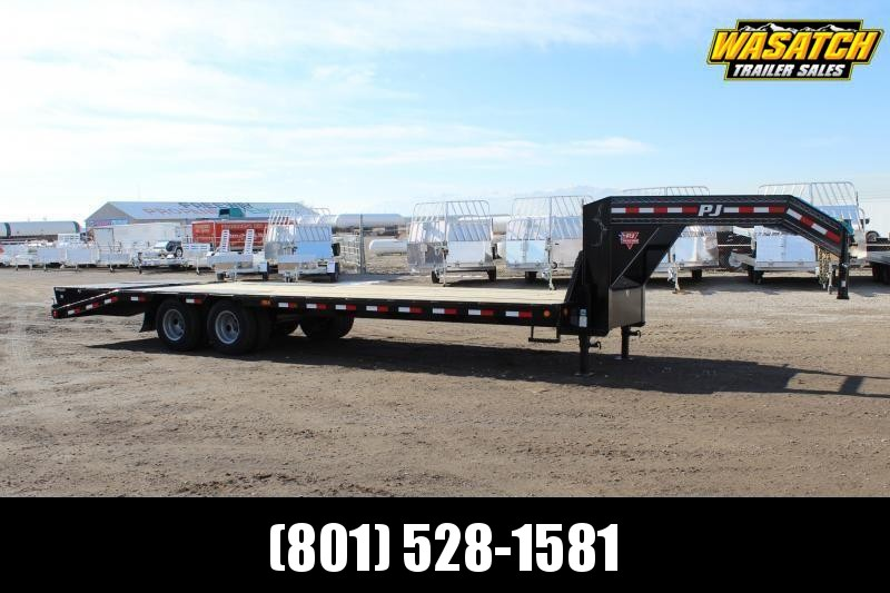 PJ Trailers 8.5x27 Low-Pro Flatdeck With Duals (LD) Flatbed Trailer