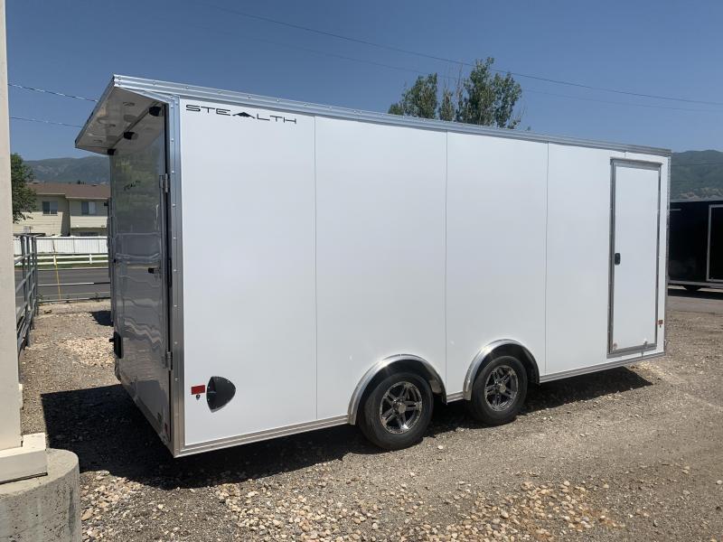 Alcom-Stealth 8x18 Aluminum Stealth Enclosed Cargo