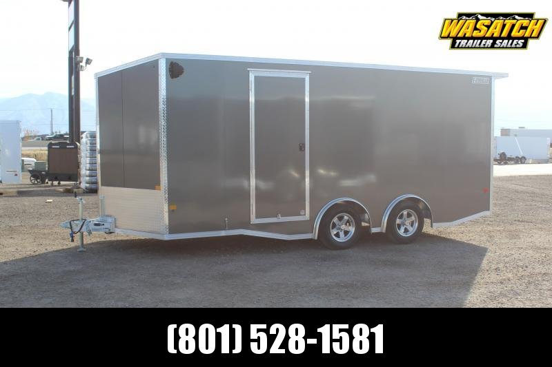 EZ Hauler 85x18 Aluminum Car / Racing Trailer