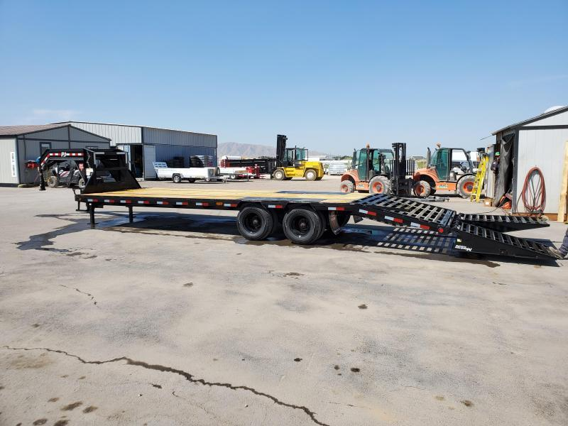 PJ Trailers 85x32 Low-Pro Flatdeck With Duals (LD) Flatbed Trailer